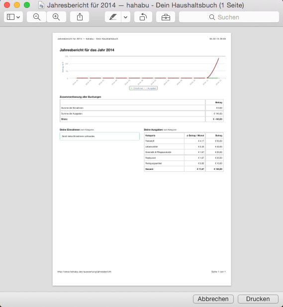 Jahresbericht Druckvorschau